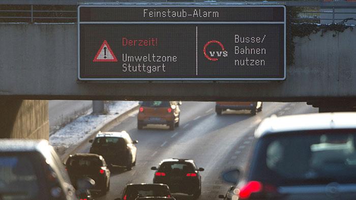 Stuttgart ist staureichste Stadt Deutschlands und leidet unter Feinstaub.