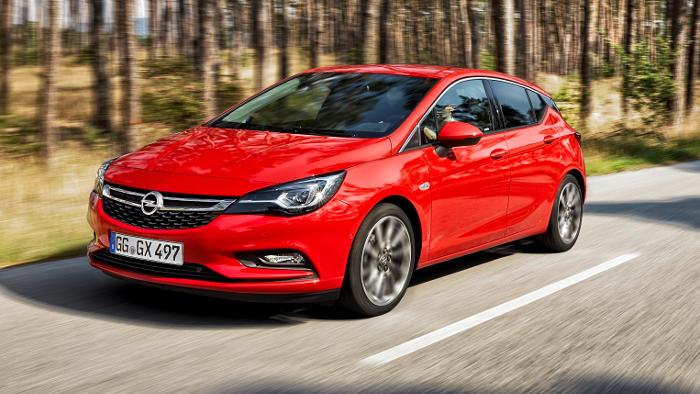 Der Opel Astra kommt bei den Kunden gut an.