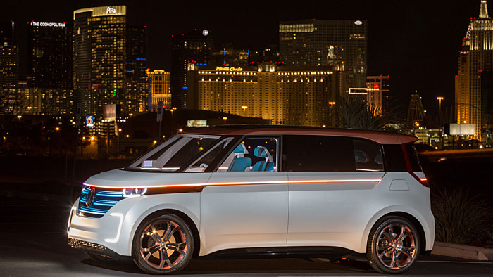 Der Budd_E verweist auf die elektrischen Ambitionen von VW.