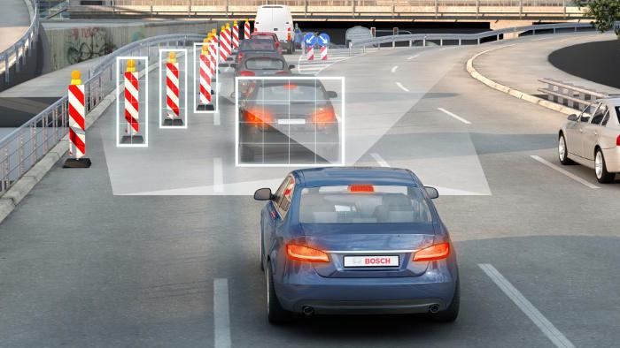 Bosch vernetzt das Auto und misst Gaspedal eine aktivere Rolle bei.
