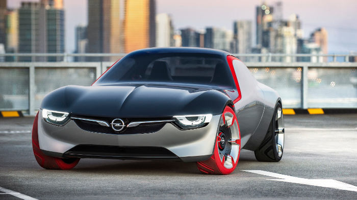 So sieht es aus: das Opel GT Concept