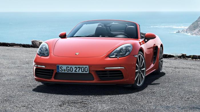 Der Porsche Boxster.