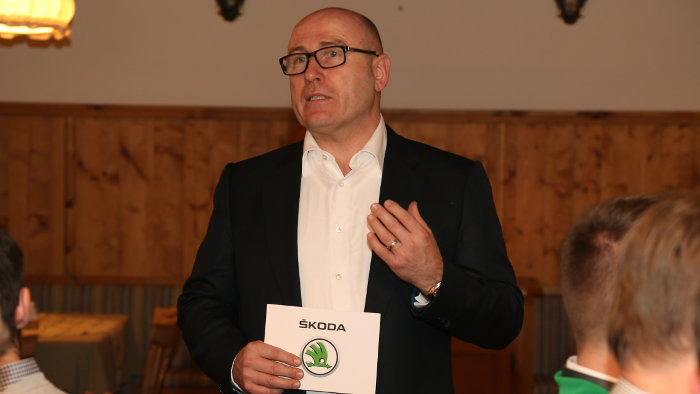 Skoda-Chef Bernhard Maier.