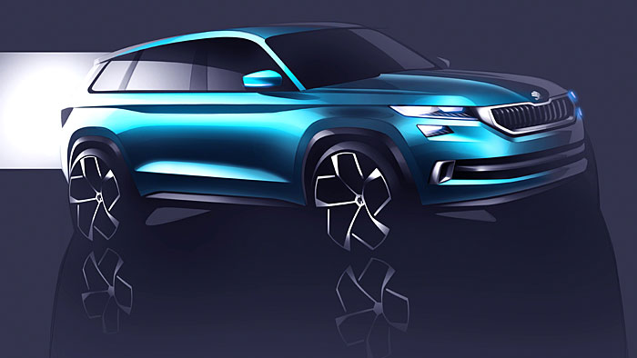 Skoda überträgt neue Design-Linie auf SUV-Segment