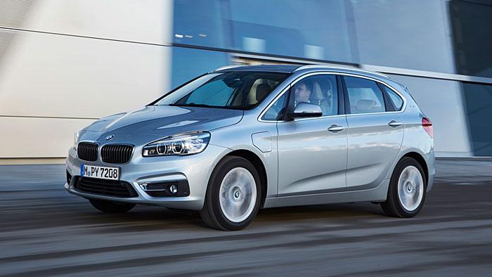 BMW hat den 2er Active Tourer unter Strom gesetzt.