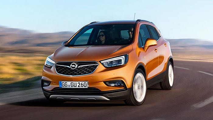 Der Opel Mokka X kommt im Sommer auf den Markt.
