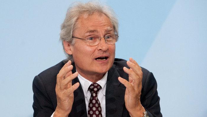 Henning Kagermann ist für eine Sonderabgabe