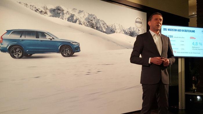 Volvo-Geschäftsführer Thomas Bauch.