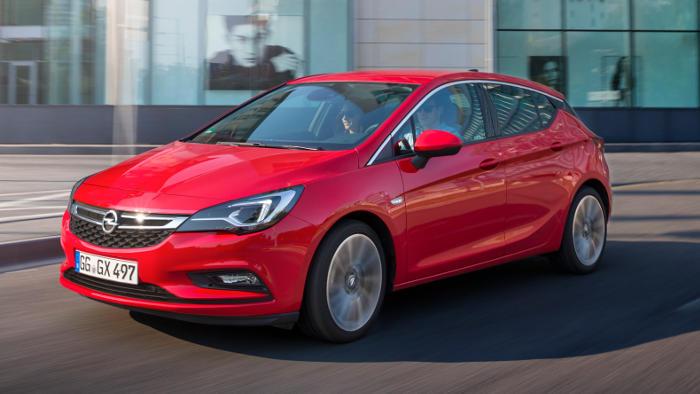Der Astra trieb das Wachstum bei Opel kräftig voran