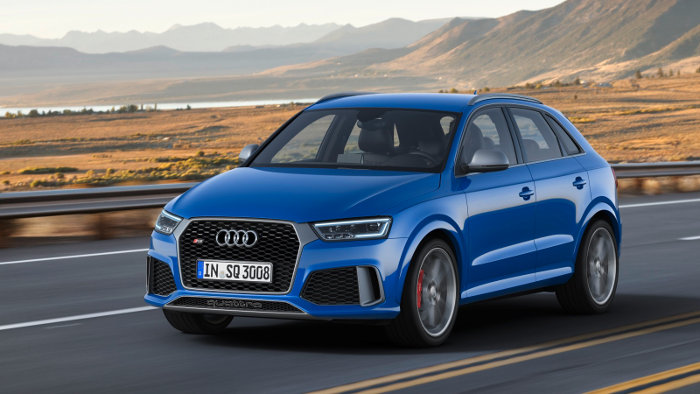 Der Audi RS Q3 ist das Topmodell der Baureihe.