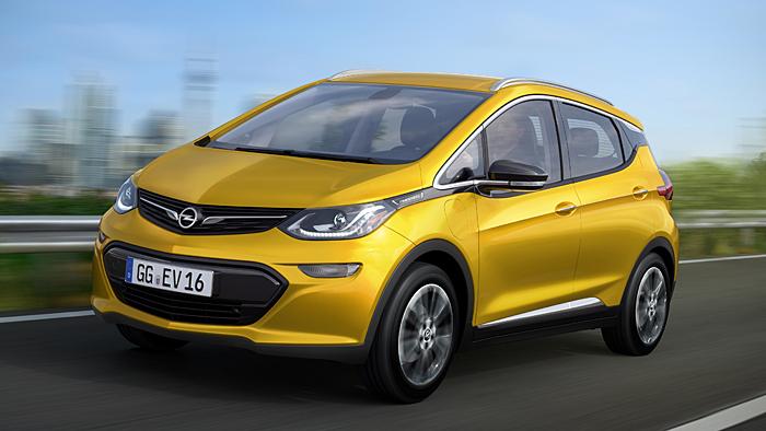 Der Opel Ampera-e hat eine Reichweite von bis zu 320 Kilometern.