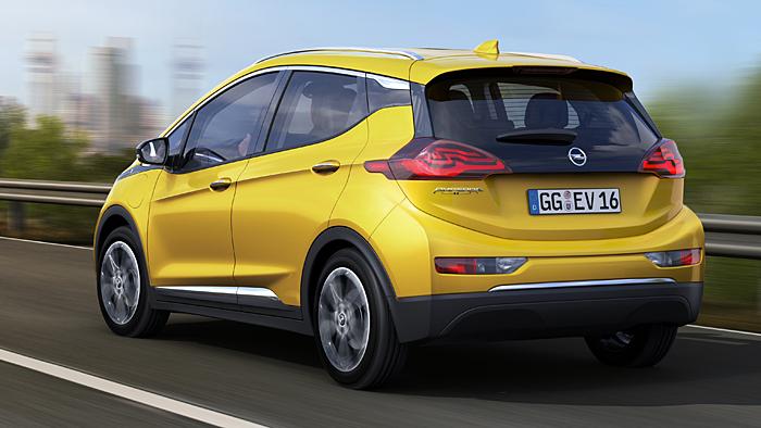 Der Opel Ampera-e soll über eine Reichweite von bis zu 320 Kilometern verfügen.