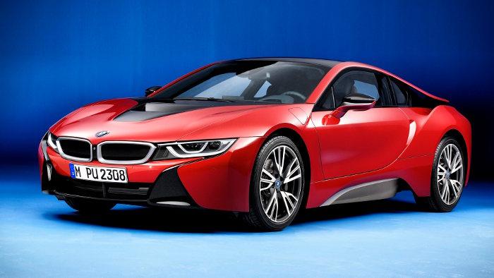 BMW zeigt in Genf ein Sondermodell des i8.