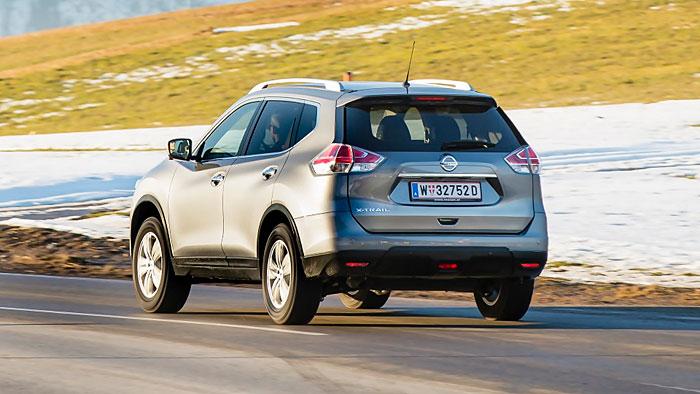 Der Nissan X-Trail kann nun auch Boulevard