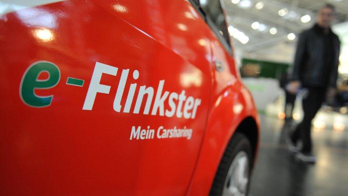Ein Carsharingauto von Flinkster.