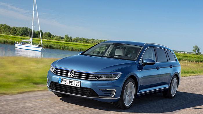Der VW Passat Variant GTE schafft bis zu 42 Kilometer rein elektrisch.