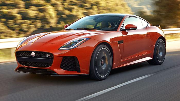 Jaguar bestückt den F-Type SVR mit 575 PS.