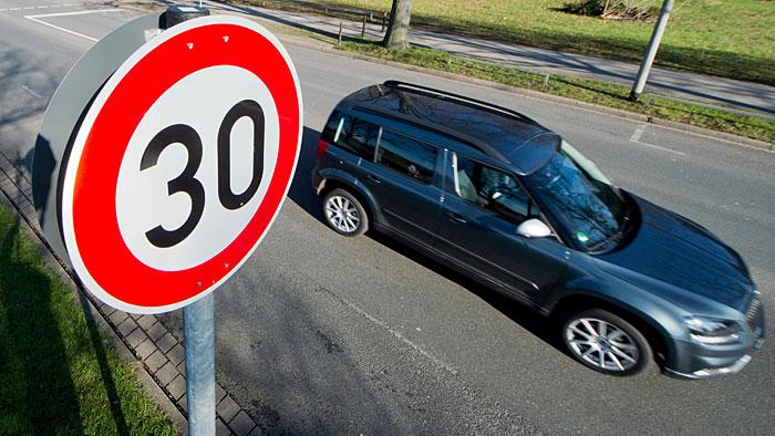 Tempo 30-Zonen sollen leichter eingerichtet werden können.