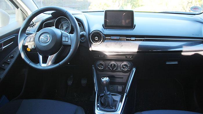 Der Mazda2 beweist Langstreckenqualität.