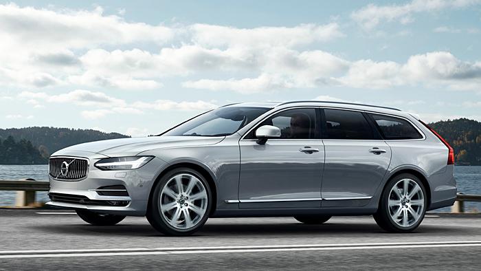 Volvo hat den V90 erstmals präsentiert.