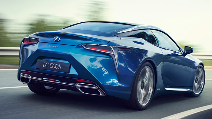 Lexus feiert im LC 500 Premiere mit einer neuen Hybrid-Generation