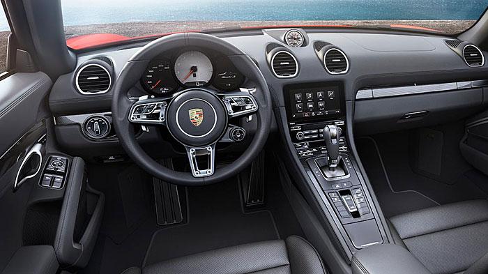 Porsche ist beim 718 Boxster zu den Vierzylindern zurückgekehrt.