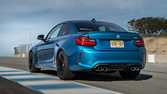 BMW lässt es mit dem M2 Coupé qualmen.