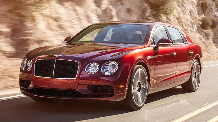 Bentley steuert beim Flying Spur V8 S weitere 21 PS zu.