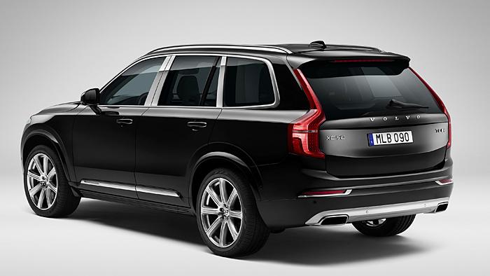 Der Volvo XC90 Excellence kostet 43.000 mehr als das Standardmodell.