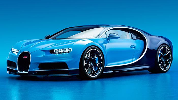 Bugatti Chiron in anderen Dimensionen unterwegs