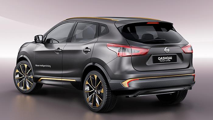 Mit dem Qashqai Premium Concept leitet Nissan das autonome Fahren ein