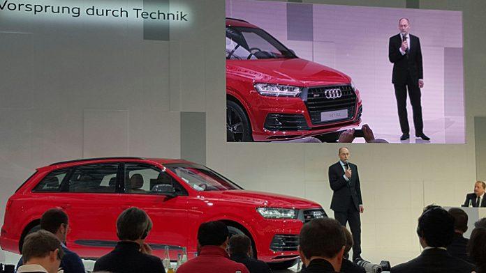 Audi-Entwicklungschef Stefan Knirsch.