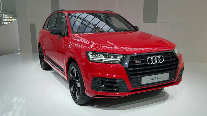 Der Audi SQ7 kommt im Frühjahr auf den Markt.