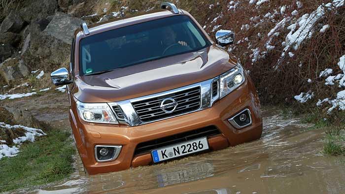 Der Nissan Navara ist noch vom alten Schlag
