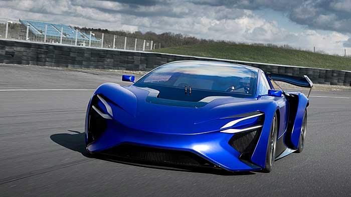 Mit Turbinenantrieb in 2,5 Sekunden auf 100 km/h