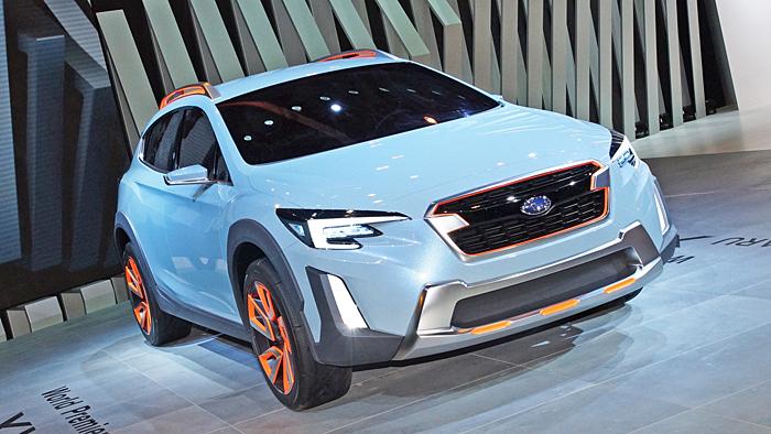 Subaru modernisiert den XV