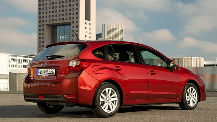 Subaru Impreza: Im Schlussverkauf