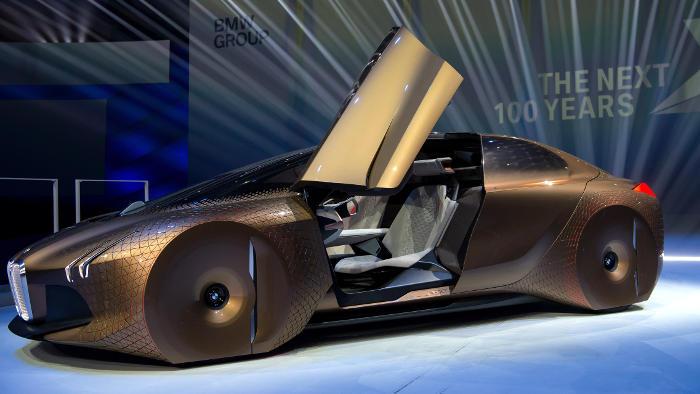 So sieht die Zukunft aus, der BMW Next 100.