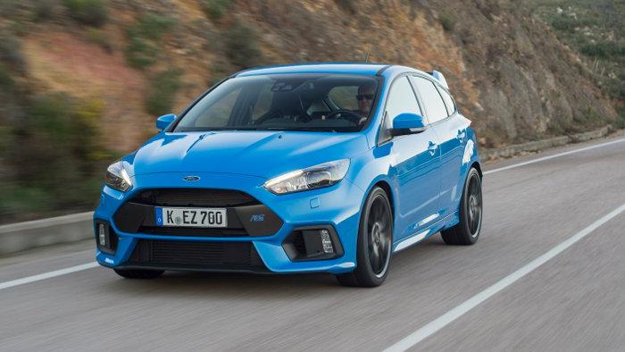 Der Ford Focus RS kostet unter 40.000 Euro.