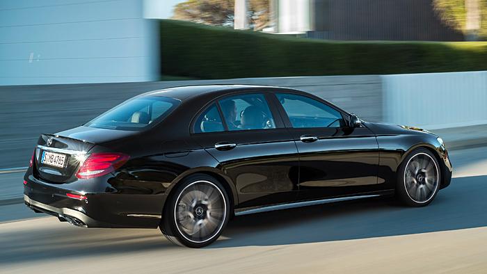 Mercedes-AMG bringt im September mit dem E43 4Matic das Topmodell der Baureihe.