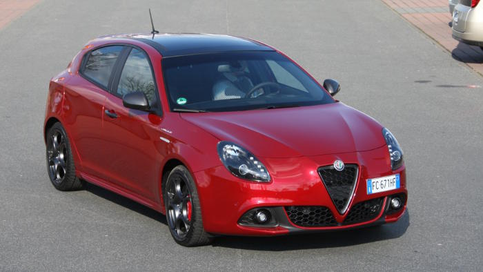 Die Giuletta von Alfa Romeo hat ein Facelift erhalten.