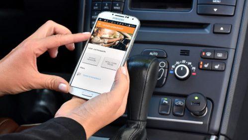 Die App des Unfallmeldedienst der Versicherer