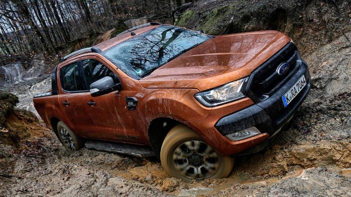 Der Ford Ranger in seinem Element