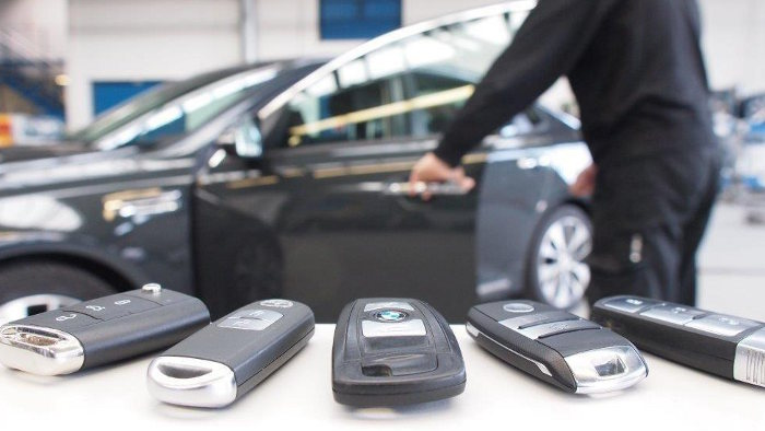 Schließsystem Keyless erfreut Autodiebe