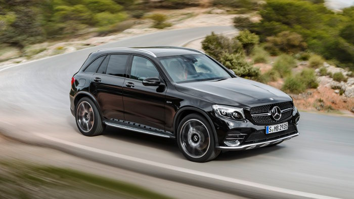 Der Mercedes -AMG GLC 43 4Matic leistet 367 PS.
