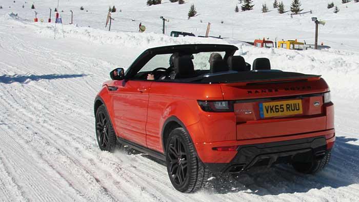 Das Range Rover Evoque Cabrio.