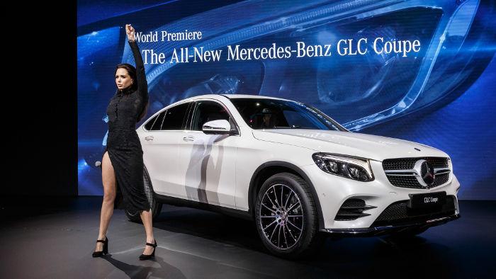Mercedes GLC Coupe und Grace Capristo