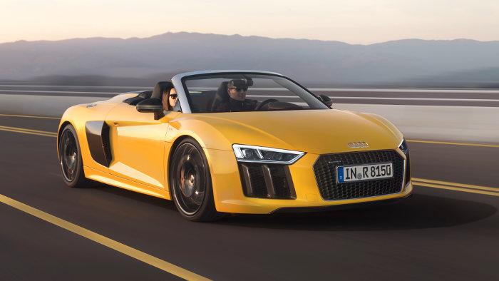 Der Audi R8 Spayder V10 kommt in der zweiten Jahreshälfte.