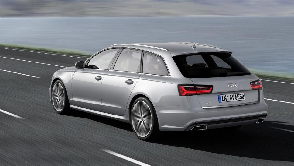 Der Audi A6 ist