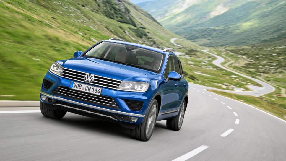 Auch der VW Touareg darf in den USA umgerüstet werden